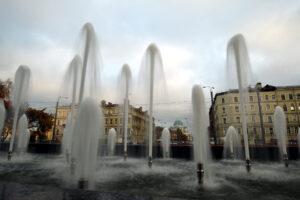 Вода в предзимье: в Петербурге закончилась реконструкция трёх фонтанов