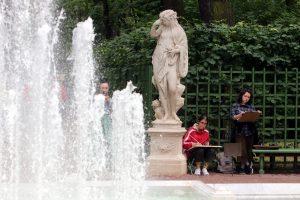 В Петербурге завершился сезон фонтанов