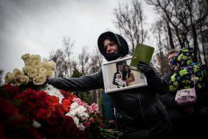 Жители Петербурга почтили память жертв авиакатастрофы над Синаем