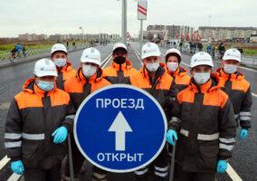 Официально открыто продолжение проспекта Ветеранов