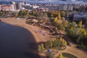 Рядом с Верхним Суздальским озером создали новое общественное пространство