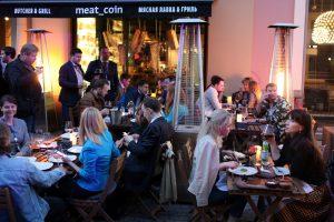 Разрешения для зимних уличных кафе начали выдавать в упрощённом порядке