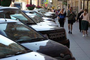 За неделю платной парковкой на улице Рубинштейна воспользовались 1 тыс. 704 автомобилиста
