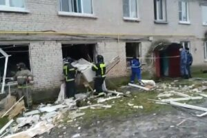 В многоквартирном доме в Гатчинском районе Ленобласти произошёл взрыв