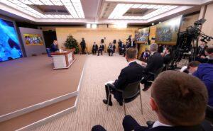 Не дотянули до рекорда: завершилась пресс-конференция Владимира Путина