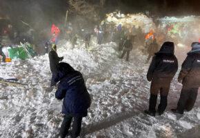 При сходе лавины на турбазу под Норильском погибли три человека