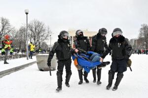 Как прошёл день массовых акций 31 января. Фоторепортаж