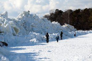 В Петербурге продлили запрет выхода на лёд до середины весны