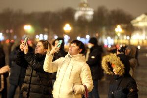Петербург лишился 90% туристов в новогодние каникулы
