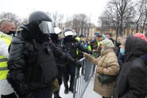 В Петербурге началась акция протеста