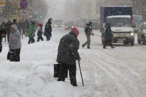 Синоптик: в субботу в Петербург вернутся снегопады