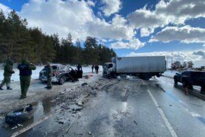 В аварии на трассе «Самара — Тольятти» погибли семь человек