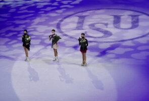 Российские фигуристы победили в парном и одиночном женском катании на чемпионате мира