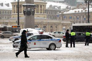 В Пушкине полиция остановила «Майбах» с «говорящими» номерами