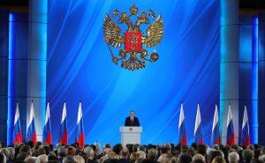 Песков заявил о сдвиге сроков послания Путина Федеральному собранию