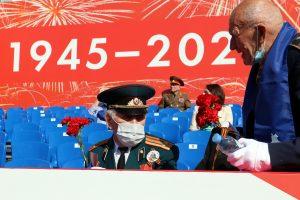 Юнармейцы Петербурга примут участие в Параде Победы на Дворцовой площади