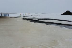 Крупный разлив нефти произошёл в Саратовской области